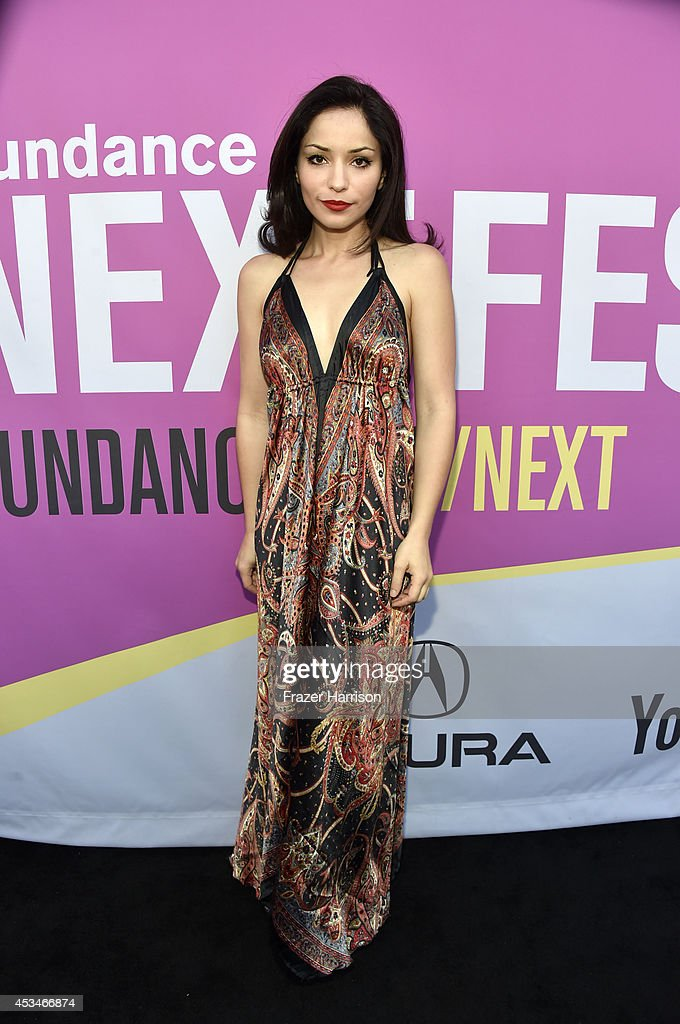 Actress Rome Shadanloo attends the screening of 'A Girl Walks Home Alone at Night' with Warpaint in concert during Sundance NEXT FEST at The Theatre at Ace Hotel on August 10, 2014 in Los Angeles, California.