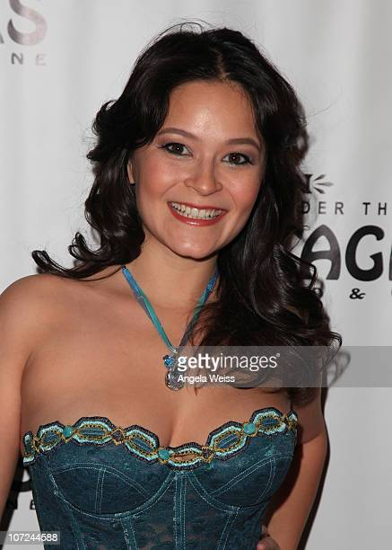 Actress Romi Dames attends the opening night of 'West Side Story' at the Pantages Theatre on December 1 2010 in Hollywood California