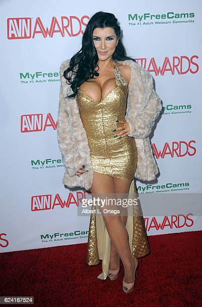 Actress Romi Rain arrives for the 2017 AVN Awards Nomination Party held at Avalon on November 17 2016 in Hollywood California
