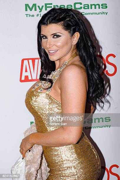 Actress Romi Rain arrives for the 2017 AVN Nomination Partyat Avalon at Avalon on November 17 2016 in Hollywood California