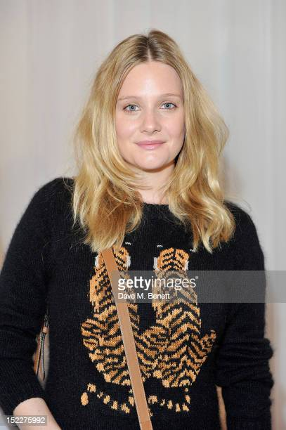 Actress Romola Garai Arrives At The Mulberry Spring Summer 2013 Show During London Fashion Week At