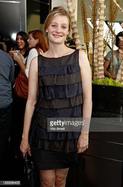 Actress Romola Garai attends NY TIMES Party at the C5 Resturant at The Royal Ontario Museum during the 2009 Toronto International Film Festival on...