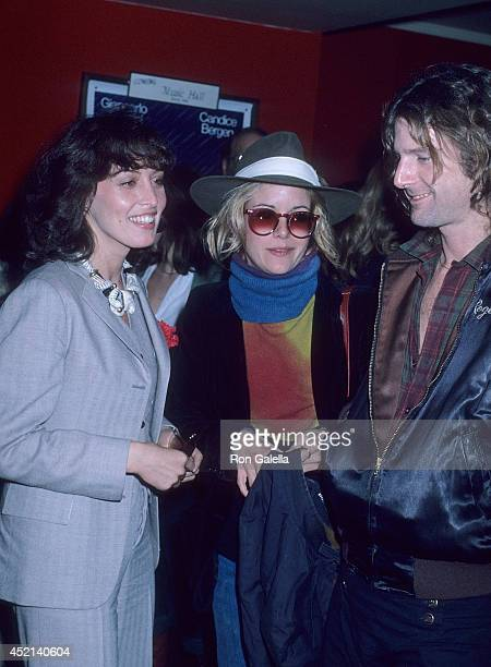 Actress Ronee Blakley actress Season Hubley and guest attend the 'Renaldo and Clara' Westwood Premiere on January 24 1978 at the Regent Theatre in...