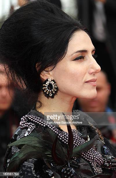 Actress Ronit Elkabetz attends the 'Outside the Law' Premiere at the Palais des Festivals during the 63rd Annual International Cannes Film Festival...