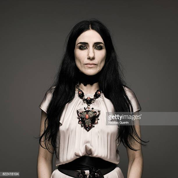Actress Ronit Elkabetz is photographed for Self Assignment on July 4 2008 in Paris France