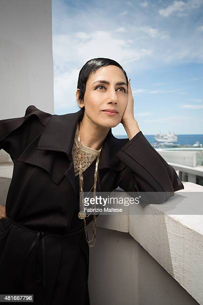 Actress Ronit Elkabetz is photographed for The Hollywood Reporter on May 15 2015 in Cannes France