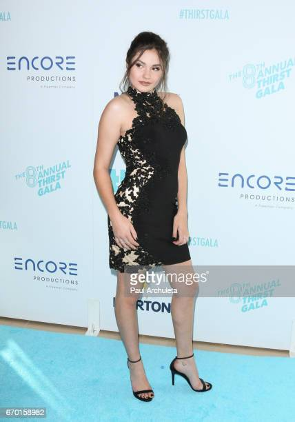 Actress Ronni Hawk attends the 8th annual Thirst Gala at The Beverly Hilton Hotel on April 18 2017 in Beverly Hills California
