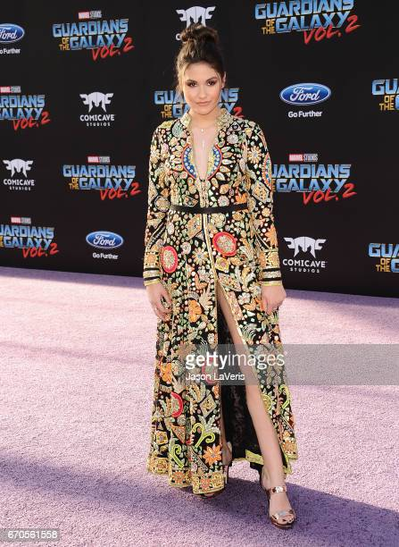 Actress Ronni Hawk attends the premiere of 'Guardians of the Galaxy Vol 2' at Dolby Theatre on April 19 2017 in Hollywood California