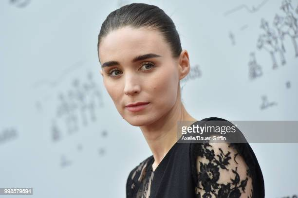 Actress Rooney Mara arrives at Amazon Studios premiere of 'Don't Worry He Won't Get Far on Foot' at ArcLight Hollywood on July 11 2018 in Hollywood...
