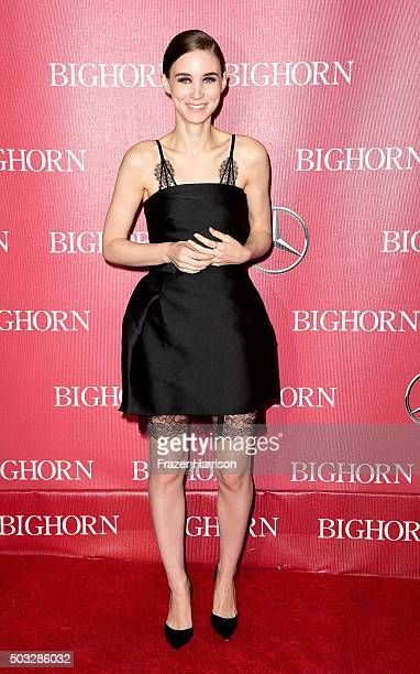 Actress Rooney Mara arrives at the 27th Annual Palm Springs International Film Festival Awards Gala at Palm Springs Convention Center on January 2...