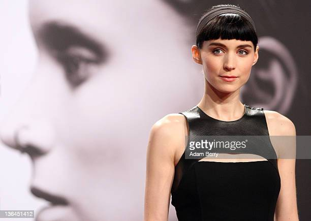 Actress Rooney Mara arrives for the German premiere of the film 'The Girl With the Dragon Tattoo' the first part of a series of film versions of the...