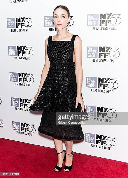 Actress Rooney Mara attends 53rd New York Film Festival 'Carol' at Alice Tully Hall on October 9 2015 in New York City