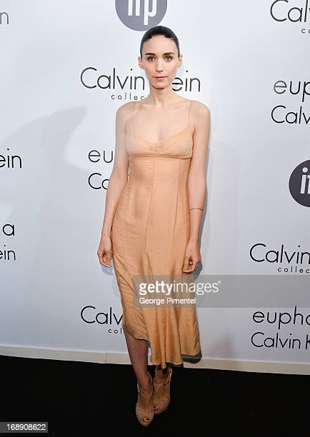 Actress Rooney Mara attends a party hosted by Calvin Klein and IFP to celebrate women in film at The 66th Annual Cannes Film Festival at L'Ecrin...