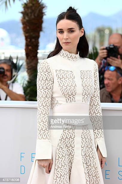 Actress Rooney Mara attends a photocall for 'Carol' during the 68th annual Cannes Film Festival on May 17 2015 in Cannes France