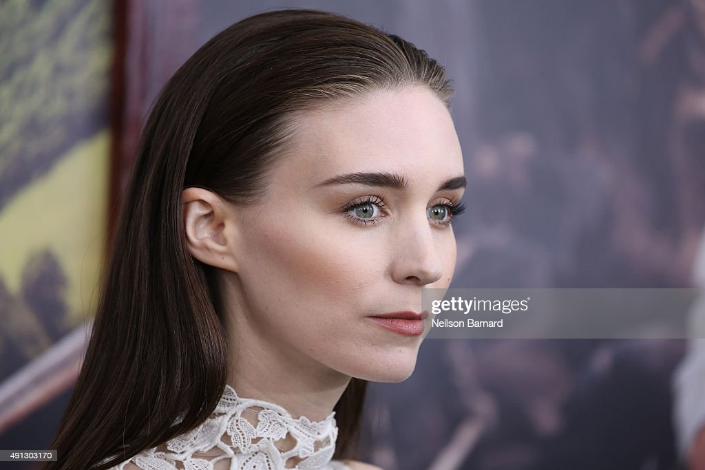 Actress Rooney Mara attends 'Pan' premiere at Ziegfeld Theater on October 4, 2015 in New York City.