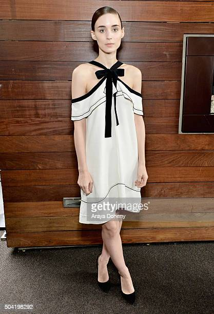 Actress Rooney Mara attends the 2016 Film Independent Filmmaker Grant and Spirit Award Nominees Brunch at BOA Steakhouse on January 9 2016 in West...
