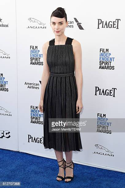 Actress Rooney Mara attends the 2016 Film Independent Spirit Awards on February 27 2016 in Santa Monica California
