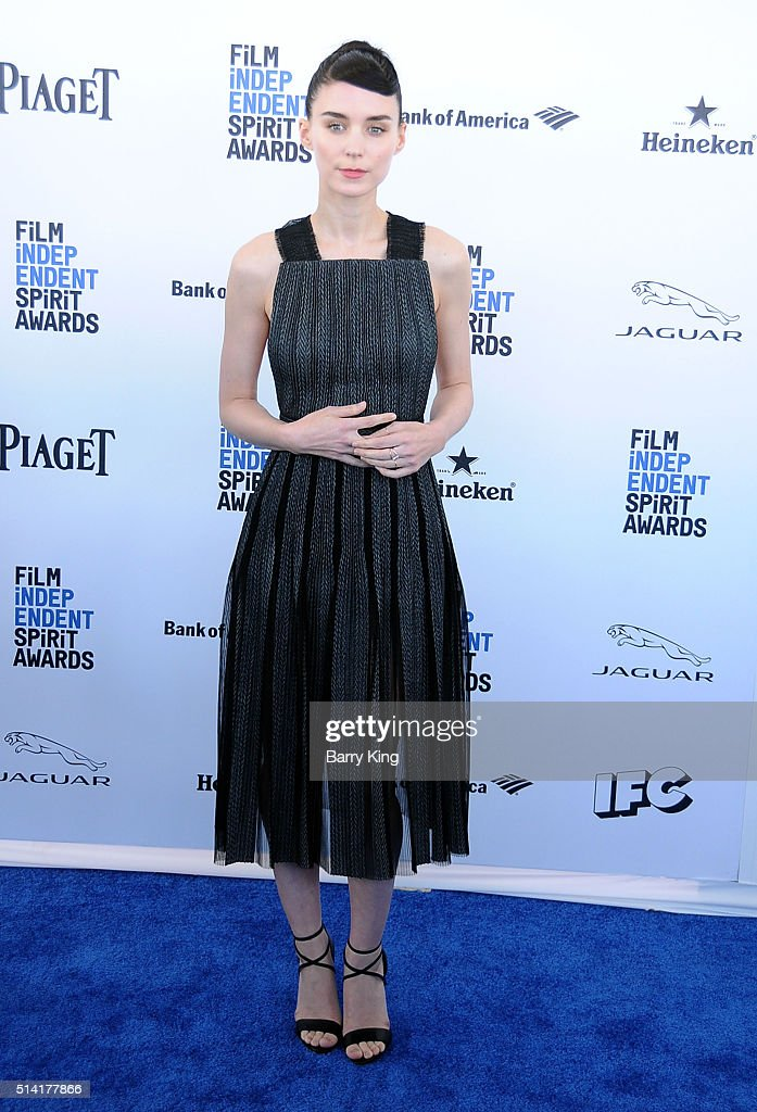 Actress Rooney Mara attends the 2016 Film Independent Spirit Awards on February 27, 2016 in Santa Monica, California.