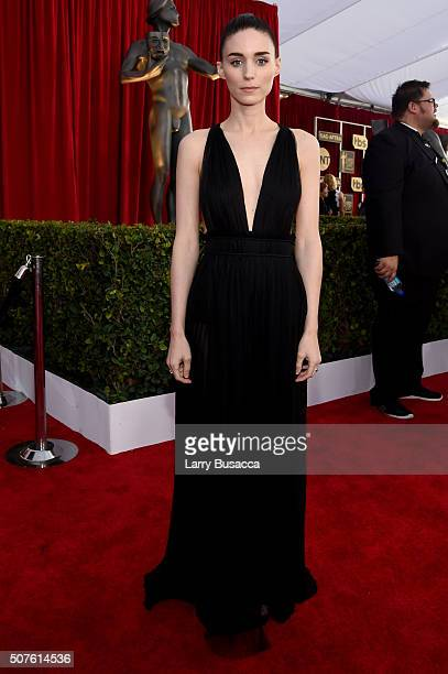 Actress Rooney Mara attends The 22nd Annual Screen Actors Guild Awards at The Shrine Auditorium on January 30 2016 in Los Angeles California 25650_014