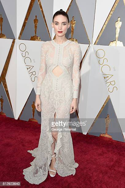 Actress Rooney Mara attends the 88th Annual Academy Awards at Hollywood Highland Center on February 28 2016 in Hollywood California