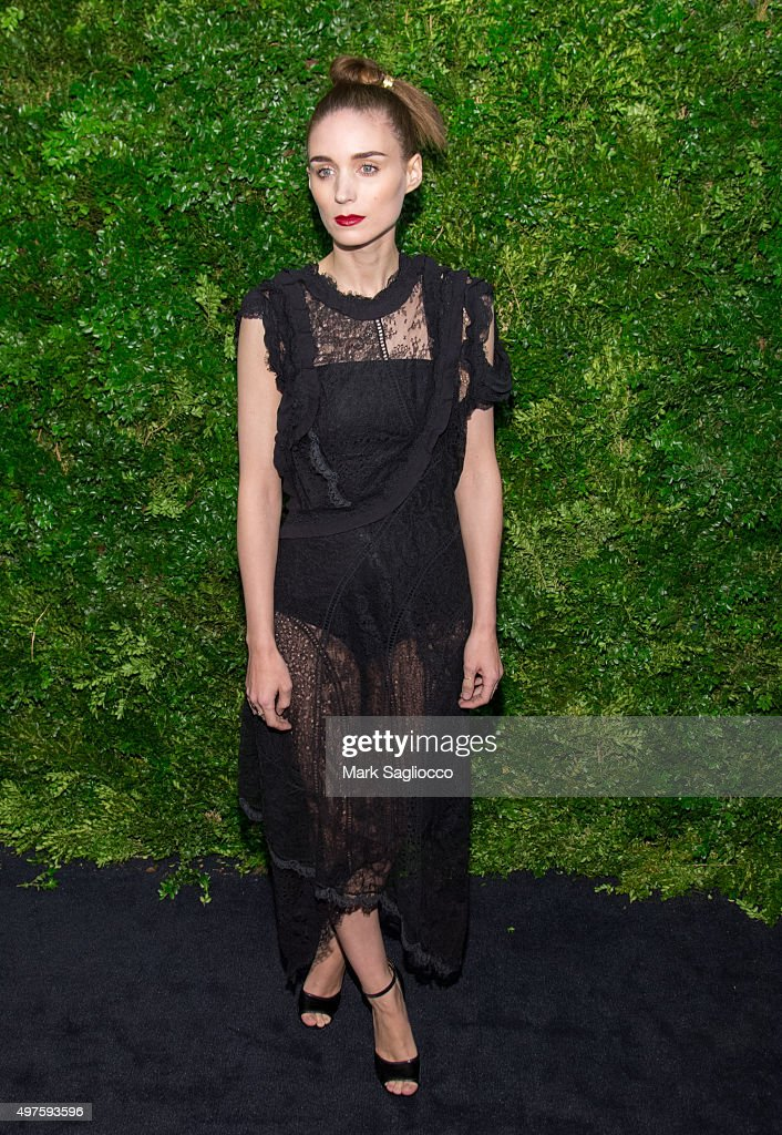 Actress Rooney Mara attends the 8th Annual Museum Of Modern Art Film Benefit Honoring Cate Blanchett on November 17, 2015 in New York City.