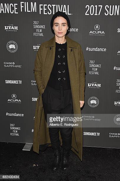 Actress Rooney Mara attends the A Ghost Story Premiere on day 4 of the 2017 Sundance Film Festival at Library Center Theater on January 22 2017 in...