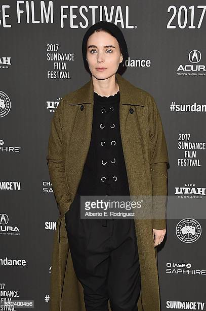Actress Rooney Mara attends the 'A Ghost Story' Premiere on day 4 of the 2017 Sundance Film Festival at Library Center Theater on January 22 2017 in...