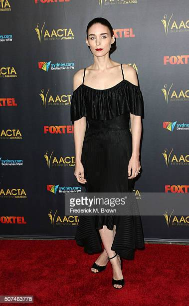 Actress Rooney Mara attends the AACTA International Awards at Avalon Hollywood on January 29 2016 in Los Angeles California