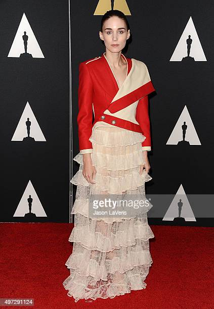 Actress Rooney Mara attends the Academy of Motion Picture Arts and Sciences' 7th annual Governors Awards at The Ray Dolby Ballroom at Hollywood...