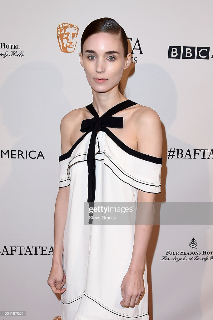 Actress Rooney Mara attends the BAFTA Los Angeles Awards Season Tea at Four Seasons Hotel Los Angeles at Beverly Hills on January 9, 2016 in Los Angeles, California.