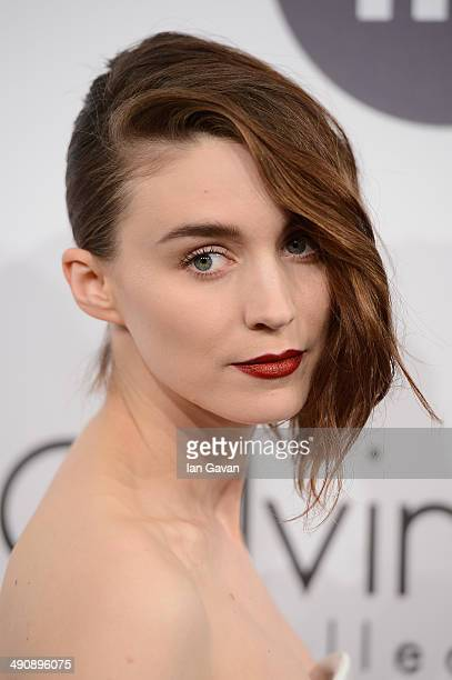 Actress Rooney Mara attends the Calvin Klein party during the 67th Annual Cannes Film Festival on May 15 2014 in Cannes France
