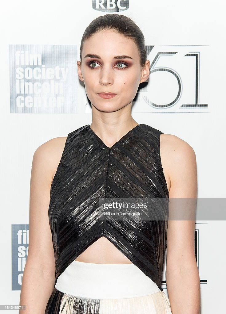 Actress Rooney Mara attends the Closing Night Gala Presentation Of 'Her' during the 51st New York Film Festival at Alice Tully Hall at Lincoln Center on October 12, 2013 in New York City.