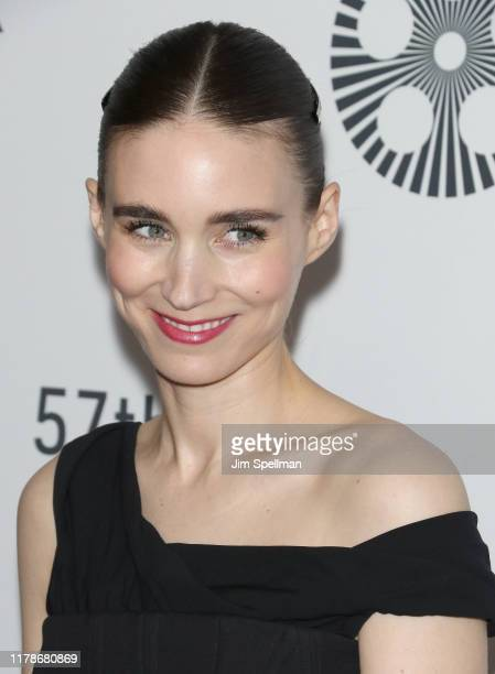 """Actress Rooney Mara attends the """"Joker"""" premiere during the 57th New York Film Festival at Alice Tully Hall, Lincoln Center on October 02, 2019 in..."""