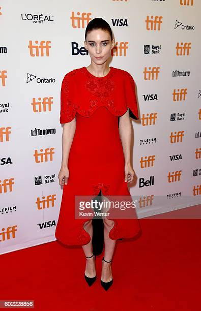 Actress Rooney Mara attends the Lion premiere during the 2016 Toronto International Film Festival at Princess of Wales Theatre on September 10 2016...