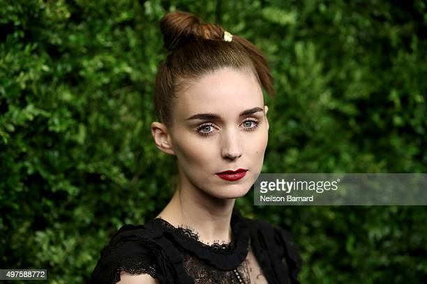Actress Rooney Mara attends the Museum of Modern Art's 8th Annual Film Benefit Honoring Cate Blanchett at the Museum of Modern Art on November 17...