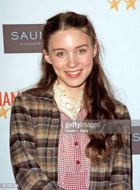 """Actress Rooney Mara attends the premiere of """"Dare"""" during 17th Annual Hamptons International Film Festival at United Artists Regal Cinema on October..."""