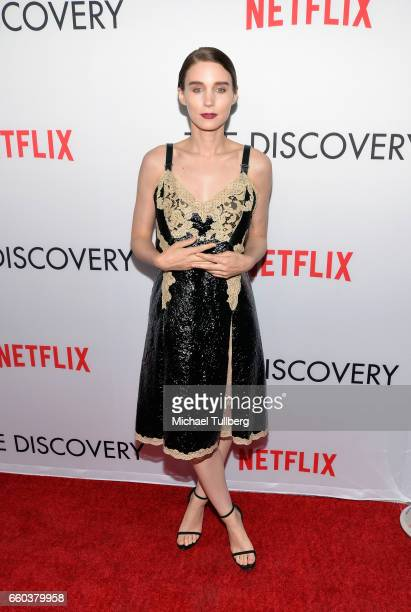 Actress Rooney Mara attends the premiere of Netflix's 'The Discovery' at the Vista Theatre on March 29 2017 in Los Angeles California