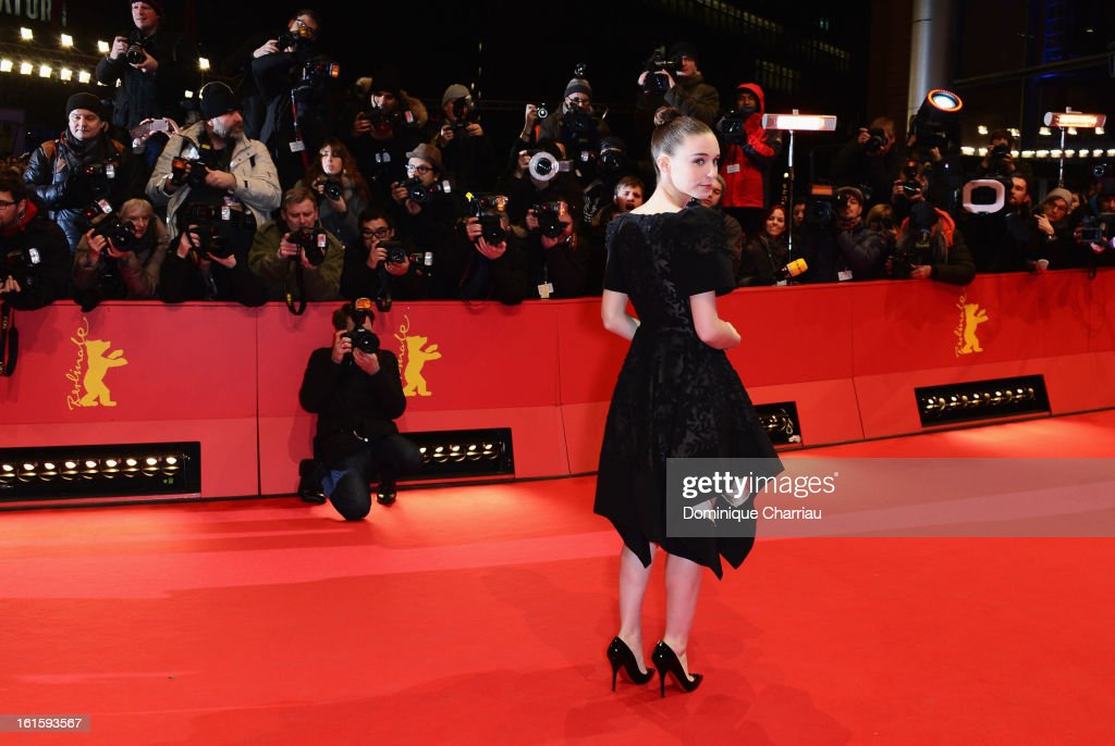 Actress Rooney Mara attends the 'Side Effects' Premiere during the 63rd Berlinale International Film Festival at Berlinale Palast on February 12, 2013 in Berlin, Germany.
