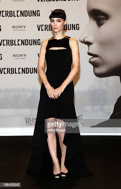 Actress Rooney Mara attends the 'The Girl With The Dragon Tattoo' Germany Premiere at the Cinestar movie theater on January 5 2012 in Berlin Germany