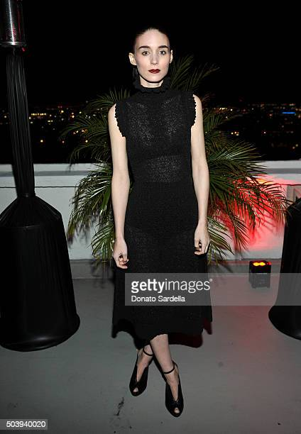Actress Rooney Mara attends the W Magazine celebration of the 'Best Performances' Portfolio and The Golden Globes with Audi and Dom Perignon at...