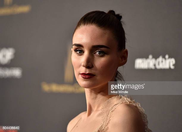 Actress Rooney Mara attends The Weinstein Company and Netflix Golden Globe Party presented with DeLeon Tequila Laura Mercier Lindt Chocolate Marie...