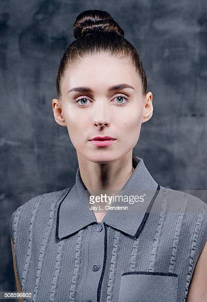 Actress Rooney Mara of the film 'Carol' is photographed for Los Angeles Times on January 8 2016 in Los Angeles California PUBLISHED IMAGE CREDIT MUST...