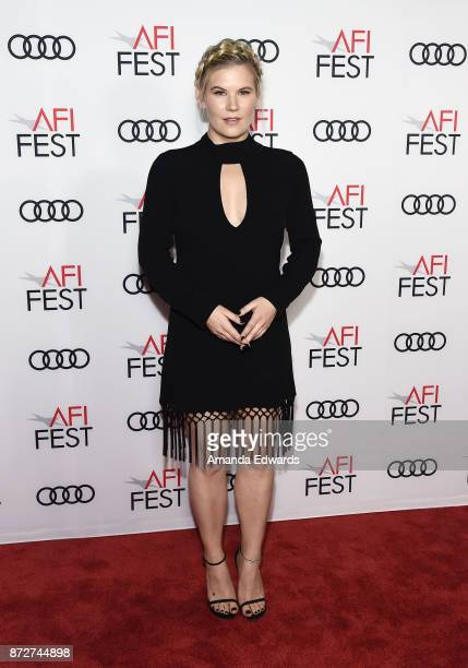 Actress Rory Uphold arrives at the AFI FEST 2017 Filmmakers' Photo Call at the TCL Chinese 6 Theatres on November 10 2017 in Hollywood California