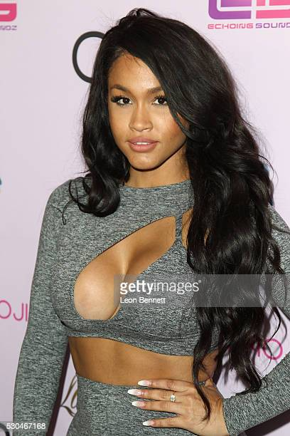 Actress Rosa Acosta attends Blac Chyna Birthday Celebration And Unveiling Of Her 'Chymoji' Emoji Collection at Hard Rock Cafe Hollywood CA on May 10...