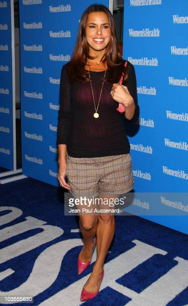 Actress Rosa Blasi arrives at Women's Health Magazine's premier Blue Issue event held at Skybar on October 18th 2007 in West Hollywood California