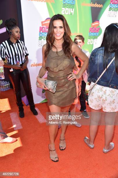 Actress Rosa Blasi attends Nickelodeon Kids' Choice Sports Awards 2014 at UCLA's Pauley Pavilion on July 17 2014 in Los Angeles California