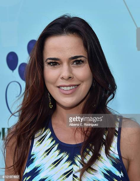 Actress Rosa Blasi attends the Step2 Favoredby Present The 5th Annual Red Carpet Safety Awareness Event at Sony Pictures Studios on September 24 2016...