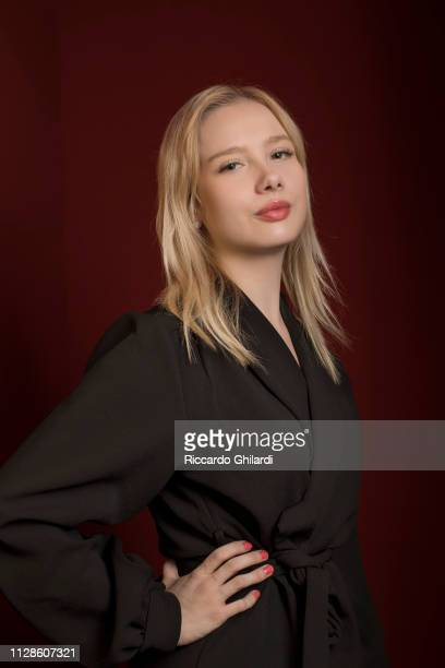 Actress Rosa Honkonen poses for a portrait during the 69th Berlinale International Film Festival on February 8 2019 in Berlin Germany