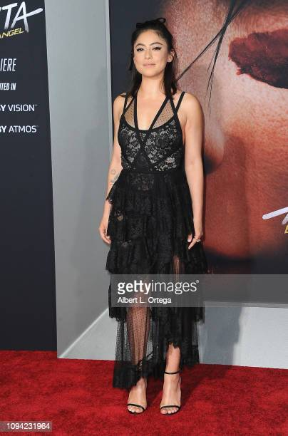Actress Rosa Salazar arrives for the Premiere Of 20th Century Fox's Alita Battle Angel held at Westwood Regency Theater on February 5 2019 in Los...