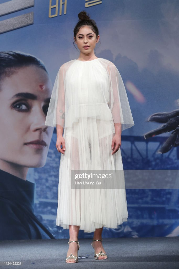 'Alita: Battle Angel'  - Press Conference : News Photo